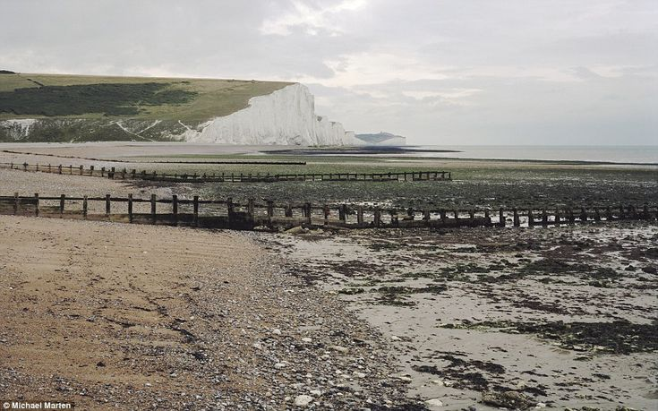 At Cuckmere Haven in Sussex, Mr Marten's picture taken at 9.15am in August 2006