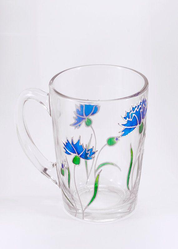 Hey, I found this really awesome Etsy listing at https://www.etsy.com/listing/290393539/cornflower-mug-floral-mug-unique-mug
