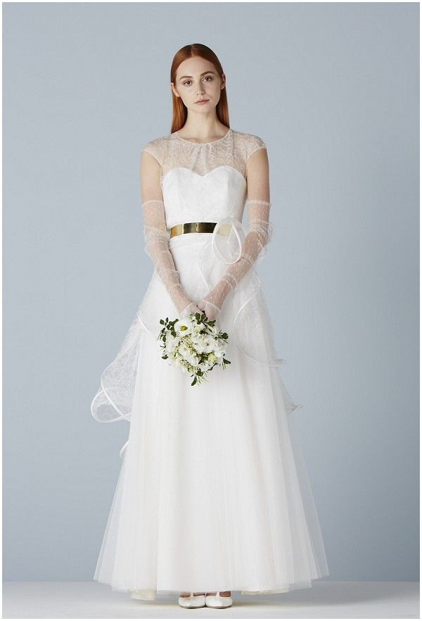 15 best Wedding dresses with color accents images on Pinterest ...