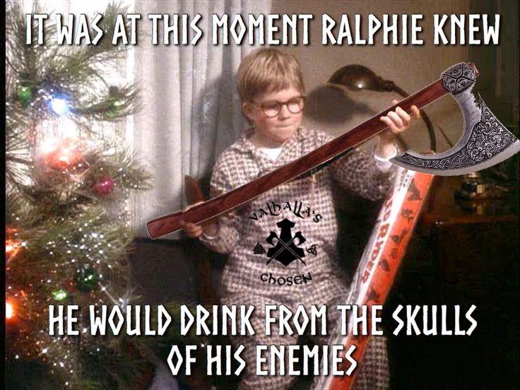 Go Ralphie! From Vahalls's Chosen on facebook.com - Viking, Celtic, Nature stuff