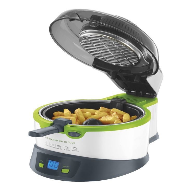 breville halo health fryer instructions