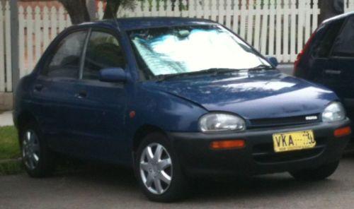Mazda 121 (1993) 4D Sedan 5 SP Manual 1.3, Economical, reliable, Rego, runs well Link : http://www.ebay.com.au/itm/Mazda-121-1993-4D-Sedan-5-SP-Manual-1-3-Economical-reliable-Rego-runs-well-/131116794669?pt=AU_Cars