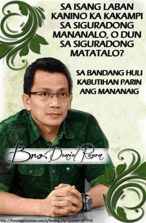 Kabutihan parin ang mananaig. .. | Tagalog quotes, Wise ...