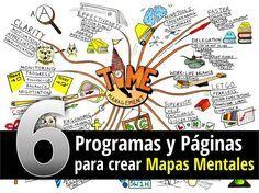 Conoce 6 Programas y páginas para crear mapas mentales en este nuevo artículo muy completo que traemos para ti que puedes visitar en este enlace: http://tugimnasiacerebral.com/mapas-conceptuales-y-mentales/programas-y-software-mapas-mentales #programas #mapas #mentales
