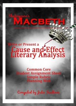 literary analysis macbeth and divergent Literary devices used in divergent book by veronica roth.