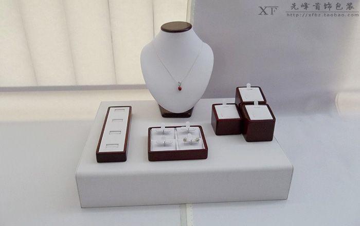 Ювелирных изделий стойки кольцо ожерелье держатель серьги дисплей стойки ювелирных изделий реквизит Ювелирные Изделия Упаковка & Дисплей
