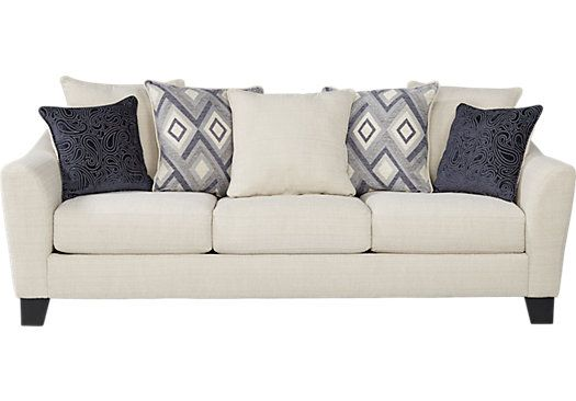 Deca Drive Cream Sofa . $499.99. 94W x 36D x 38H. Find affordable Sofas for your home that will complement the rest of your furniture.