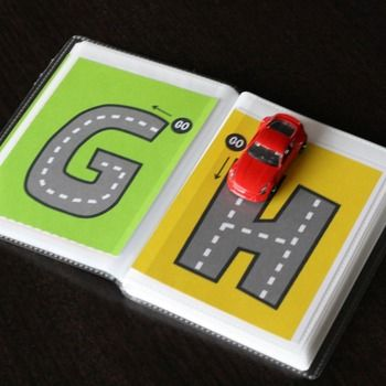 FREE Alphabet Letter Tracing Book - so fun!