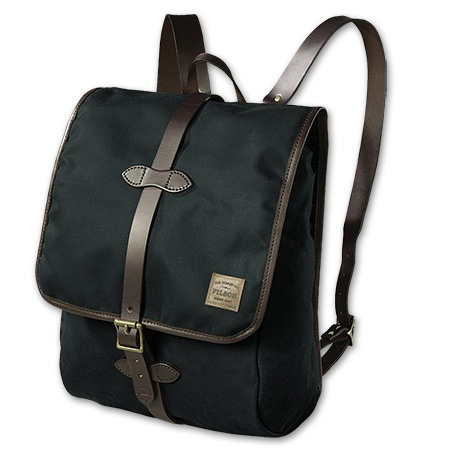 Filson TIN CLOTH BACKPACK. A handsome backpack with classic looks and functions. $238.00