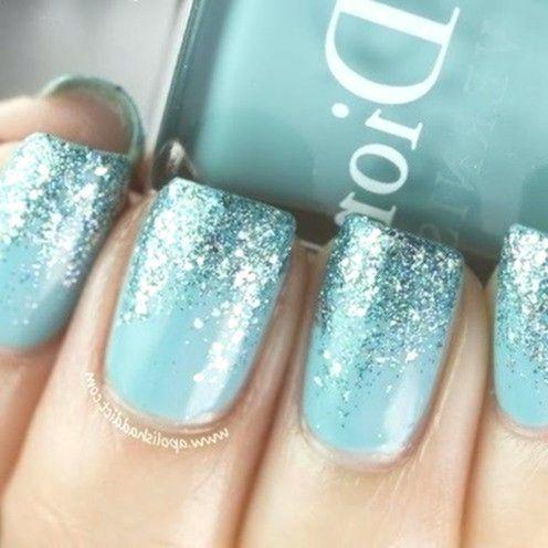 46 tolle blaue Nagel Formgebung-Ideen zum Besten von den Herbst – #Stunning #Blue … – Nail…, #NagelBlau, #NagelBlau