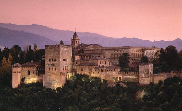 Alhambra, Granada. My workplace.