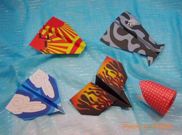 Origami volanti