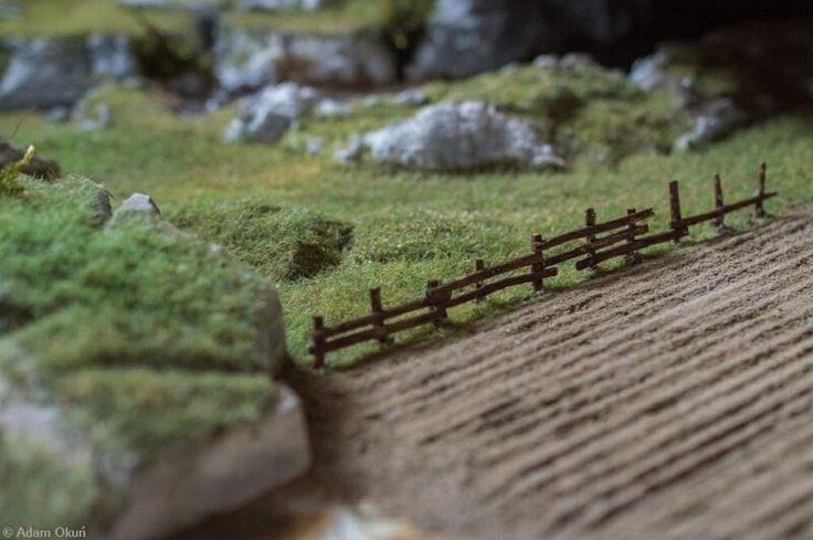 Model railway under construction