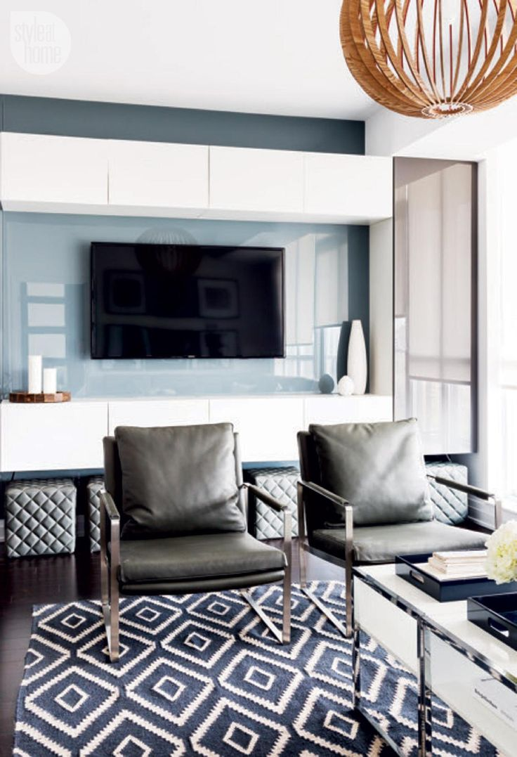 Living Room Condo Design: Condo Tour: Modern And Masculine Condo