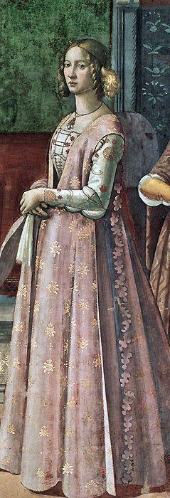 """""""Birth of St. John the Baptist"""" c.1485-90 Domenico Ghirlandaio"""