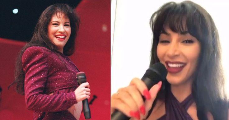 Kim Kardashian se convierte en Selena Quintanilla para Halloween (VIDEO) #Farándula #Halloween #KimKardashian #SelenaQuintanilla