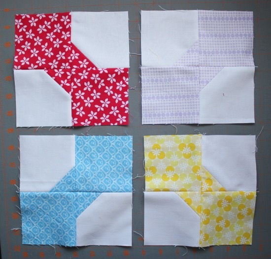 Necktie Quilt Patterns For Beginners : Canoe Ridge Creations: bow tie block [a tutorial] Interesting Blocks Pinterest