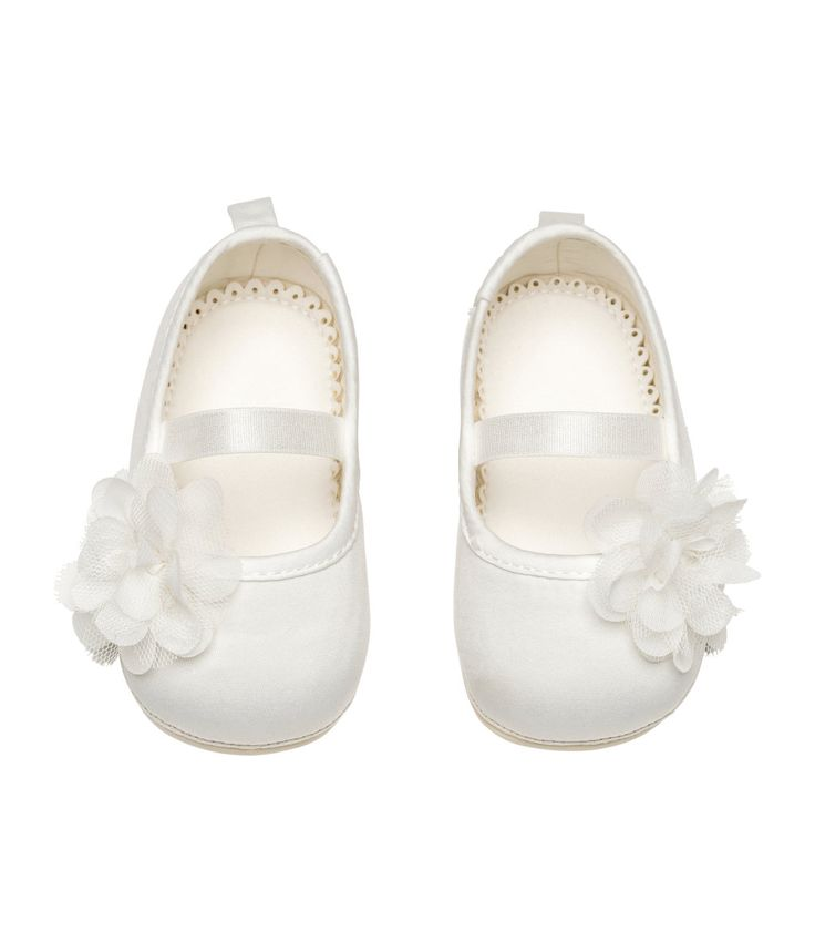 Ballerinasko | Hvit | Barn | H&M NO