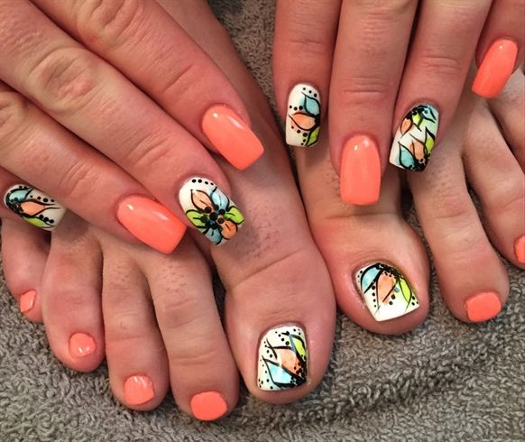 Toe Nail Art Tutorials: 147 Best Images About Pedicure Toenail Art On Pinterest