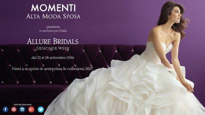 Allure Bridals Romance Collezione 2017 Designer Week Abruzzo