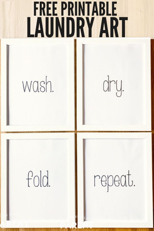 Download Free Laundry Room Printables To Make Diy Decor A