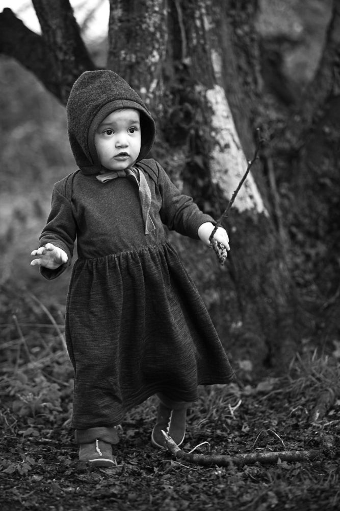 AAMcEvoy AW17 collection  Bonnet 100% Organic Virgin Wool http://www.aamcevoy.com/store/p9/Bonnet.html    |Long sleeved dress in Charcoal- Chest and sleeves in 100%Organic cotton, Skirt in 64%organic wool/36%Organic cotton    |Harem pants in Henna- 100% organic cotton Available in Charcoal http://www.aamcevoy.com/store/p2/Harem_Pants.html    |MADE IN IRELAND|