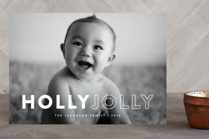 Bold Holly by peony papeterie at minted.com