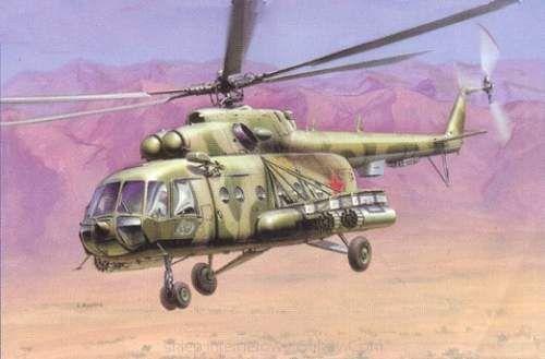 italeri mil mi-8t helicopter - Modeledo.pl