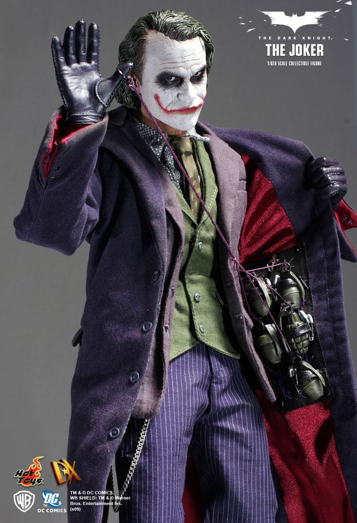 Hot Toys : The Dark Knight - The Joker 1/6th scale collectible figure
