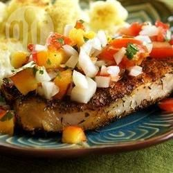Barbecued Pork Chops with Fresh Nectarine Salsa @ allrecipes.com.au