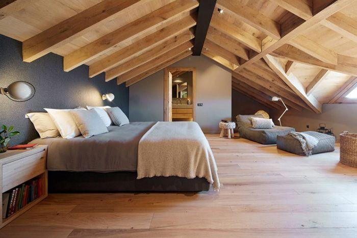 20 Ideas Para Integrar Un Dormitorio Encantador En La Buhardilla Mil Ideas De Decoracion Dormitorios Abuhardillados Dormitorios Habitaciones De Atico