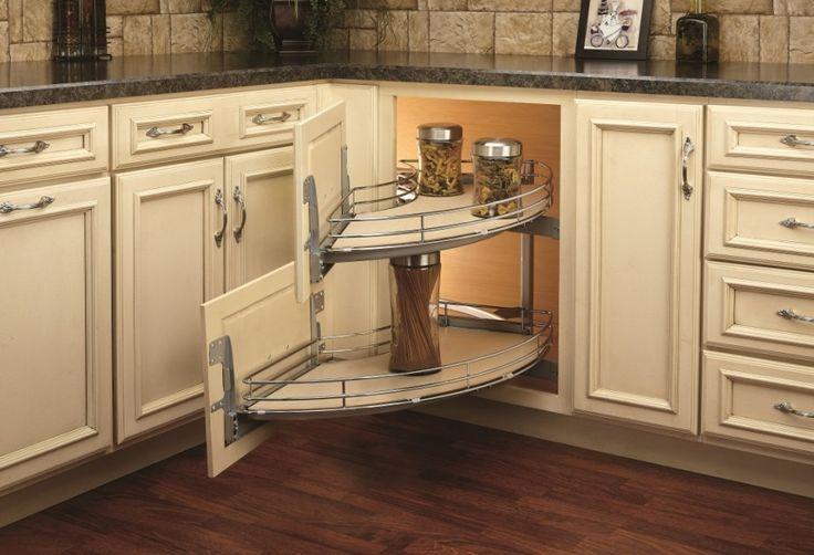 A spin on the blind corner cabinet the o 39 jays furniture for Blind corner kitchen cabinet ideas