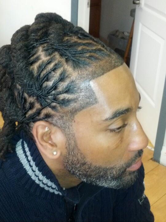 Mohawk braids for men
