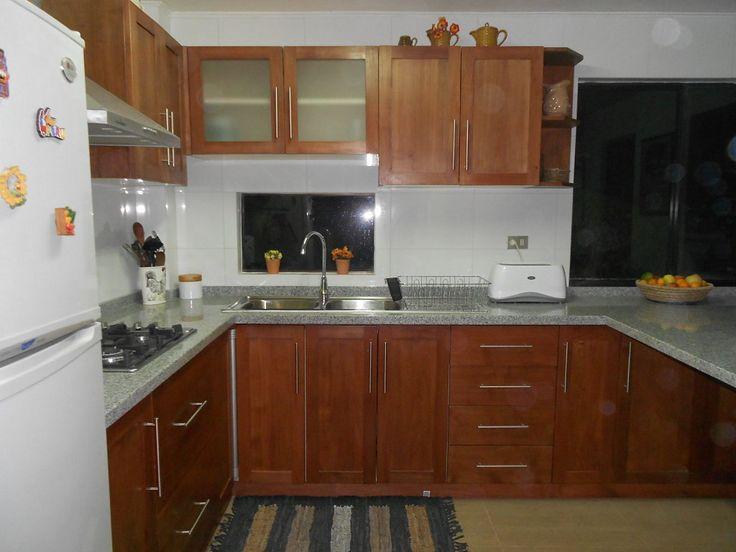Cocinas modernas peque as sin gabinete mi cocina for Gabinetes de cocina pequena