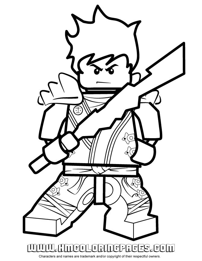 New Ninjago Coloring Pages Ninjago Kai KX In Kimono