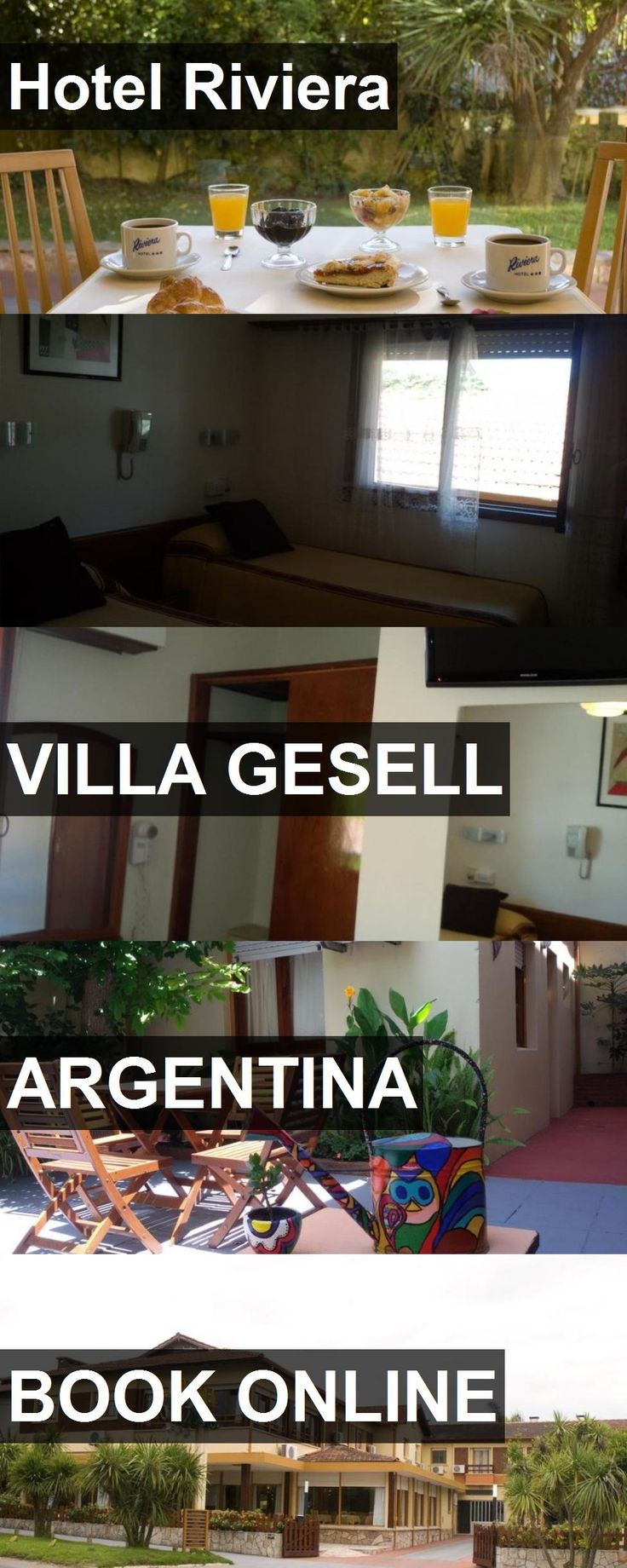 Hotel Riviera in Villa Gesell, Argentina. For more information, photos, reviews and best prices please follow the link. #Argentina #VillaGesell #travel #vacation #hotel