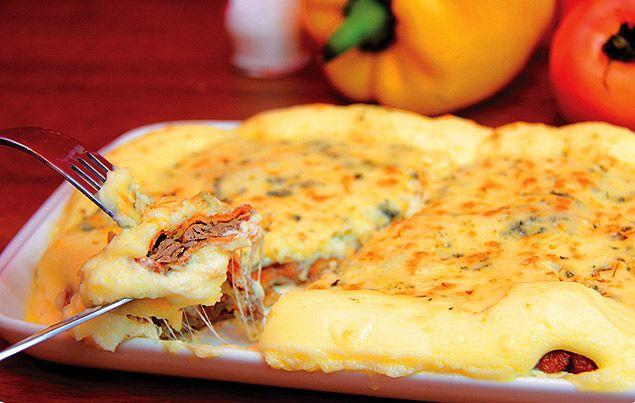 Parmegiana ao molho quatro queijos - Receitas - Comida - Folha de S.Paulo