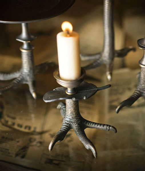 Claw Candlestick