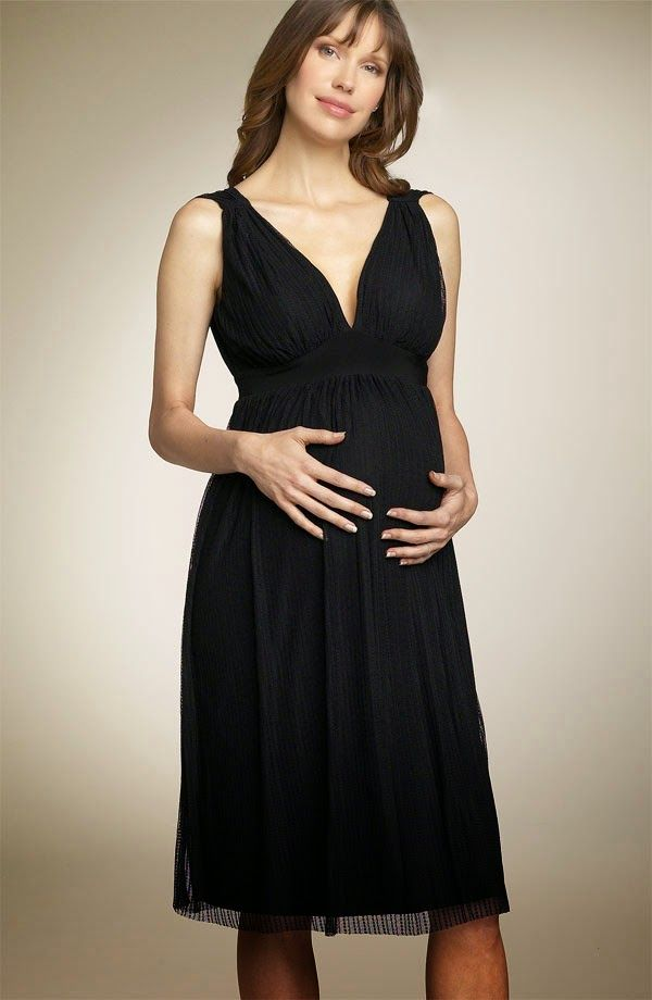 Vestidos bonitos cortos para embarazadas