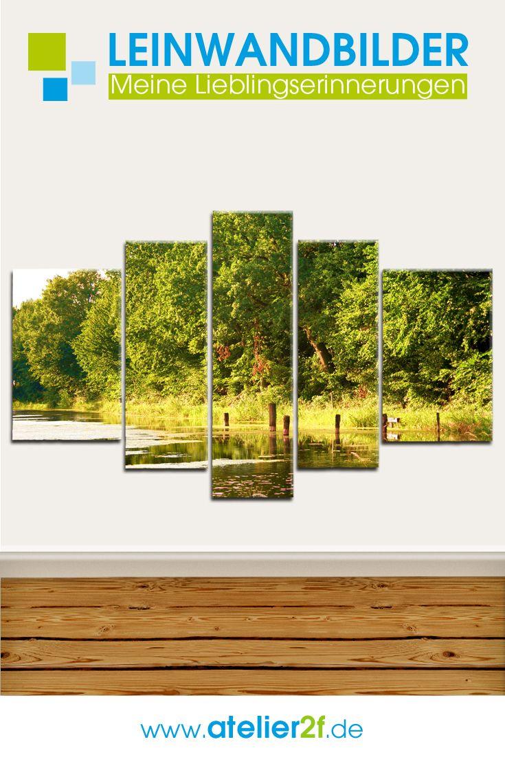 landschaften leinwand mehrteilige leinwandbilder natur wandgestaltung homedesign tapeten kaufen xxl bestellen mit rahmen