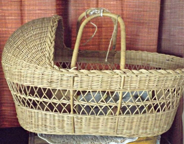 Handmade Wicker Moses Basket : Best images about photo props on fall mini