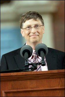 Transcrição do discurso de Bill Gates na formatura 2007 de Harvard. http://discursostranscritos.blogspot.com/