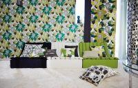 Scion Diva behang grote bloemen beige groen