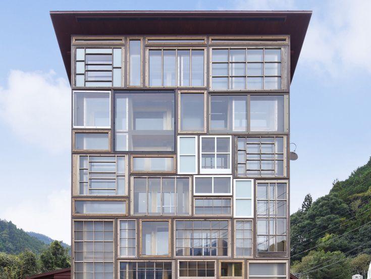Kamikatz Public House, architect Hiroshi Nakamura.