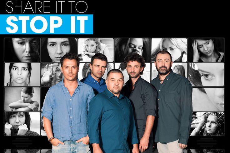 SHARE IT TO STOP IT ambassadors : Răzvan Fodor, Cornel Ilie, Leonard Doroftei, Andi Vasluianu, Cătălin Ștefănescu