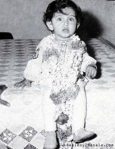 Baby Hrithik Roshan!