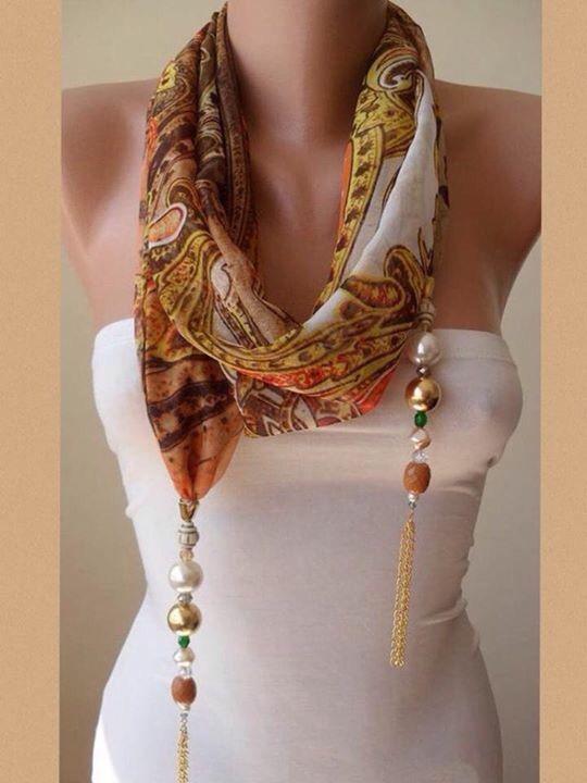 Echarp + bijoux
