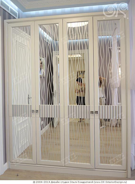 Фото зеркального шкафа в интерьере спальни в квартире на Мытной http://www.ok-interiordesign.ru/angliyskiy-kvartal-na-mytnoy-dizayn-remont-kvartir.php