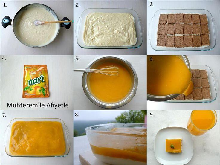 Tangli tatlı nasıl yapılır?