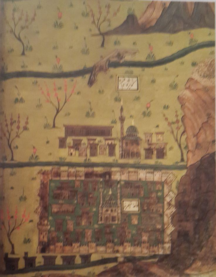 Matrakçı Nasuh-Kayseri-Beyan-i Menazil-i Sefer-i Irakeyn-i Sultan Suleyman, written circa 1537. (Istanbul University Library).